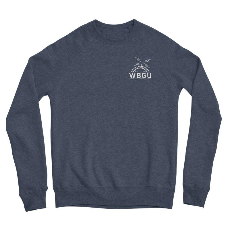 2018 Logo Chest White Women's Sponge Fleece Sweatshirt by WBGU-FM's Shop