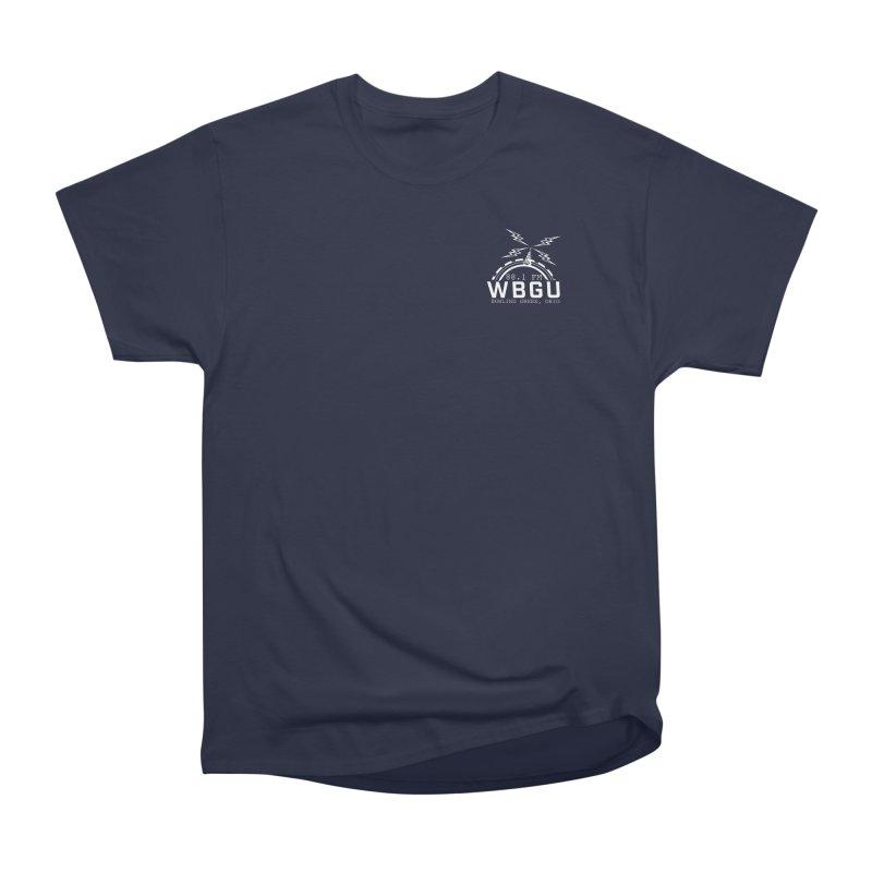 2018 Logo Chest White Men's T-Shirt by WBGU-FM's Shop