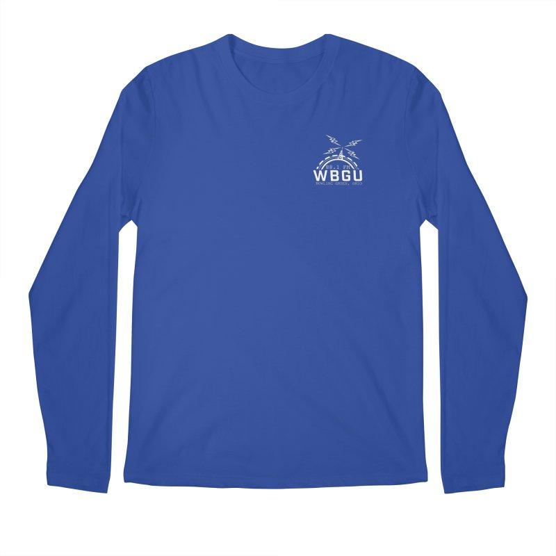 2018 Logo Chest White Men's Regular Longsleeve T-Shirt by WBGU-FM's Shop