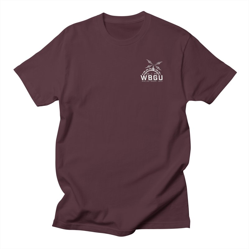 2018 Logo Chest White Women's T-Shirt by WBGU-FM's Shop