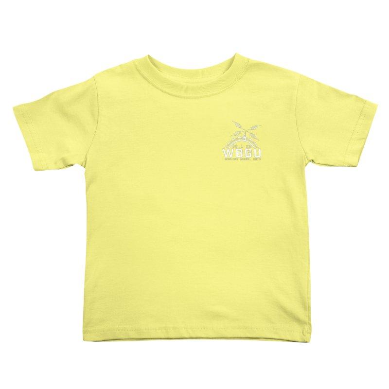 2018 Logo Chest White Kids Toddler T-Shirt by WBGU-FM's Shop