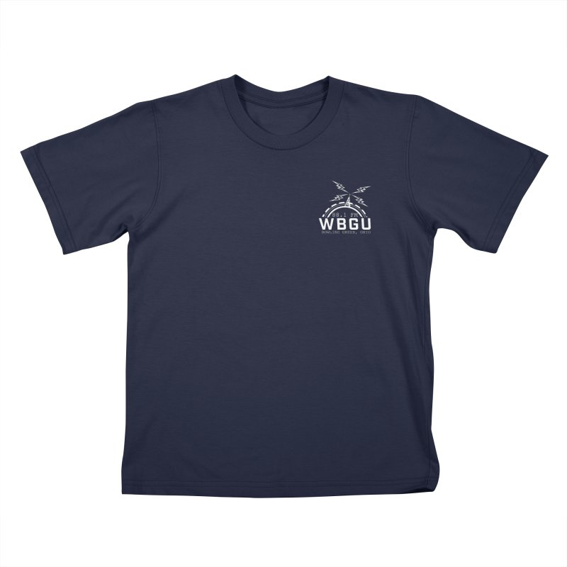 2018 Logo Chest White Kids T-Shirt by WBGU-FM's Shop
