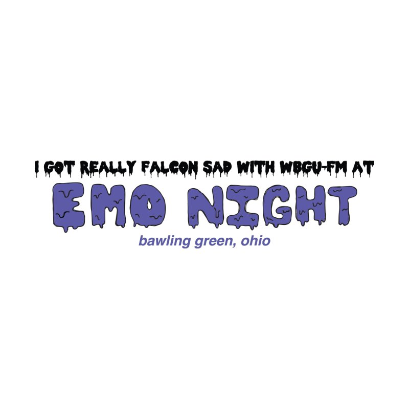 Emo Night Men's Pullover Hoody by WBGU-FM's Shop