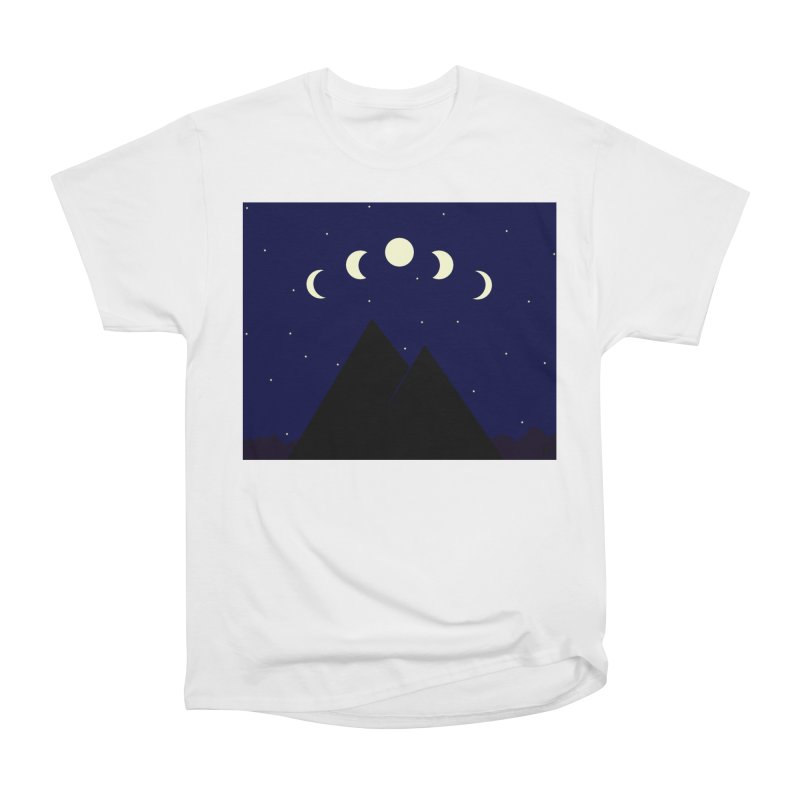 Moons over Mountains Women's T-Shirt by wchwriter's Artist Shop