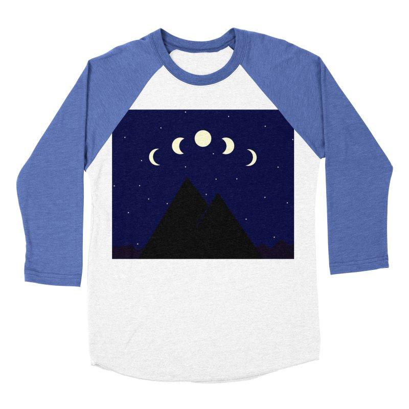 Moons over Mountains Women's Baseball Triblend Longsleeve T-Shirt by wchwriter's Artist Shop