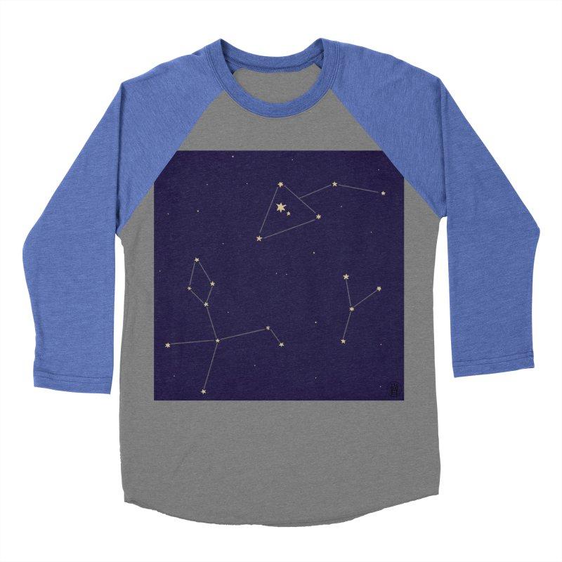 Stars Women's Baseball Triblend Longsleeve T-Shirt by wchwriter's Artist Shop