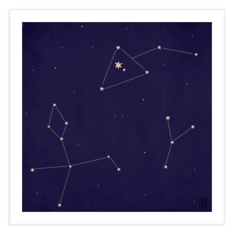 Stars Home Fine Art Print by wchwriter's Artist Shop