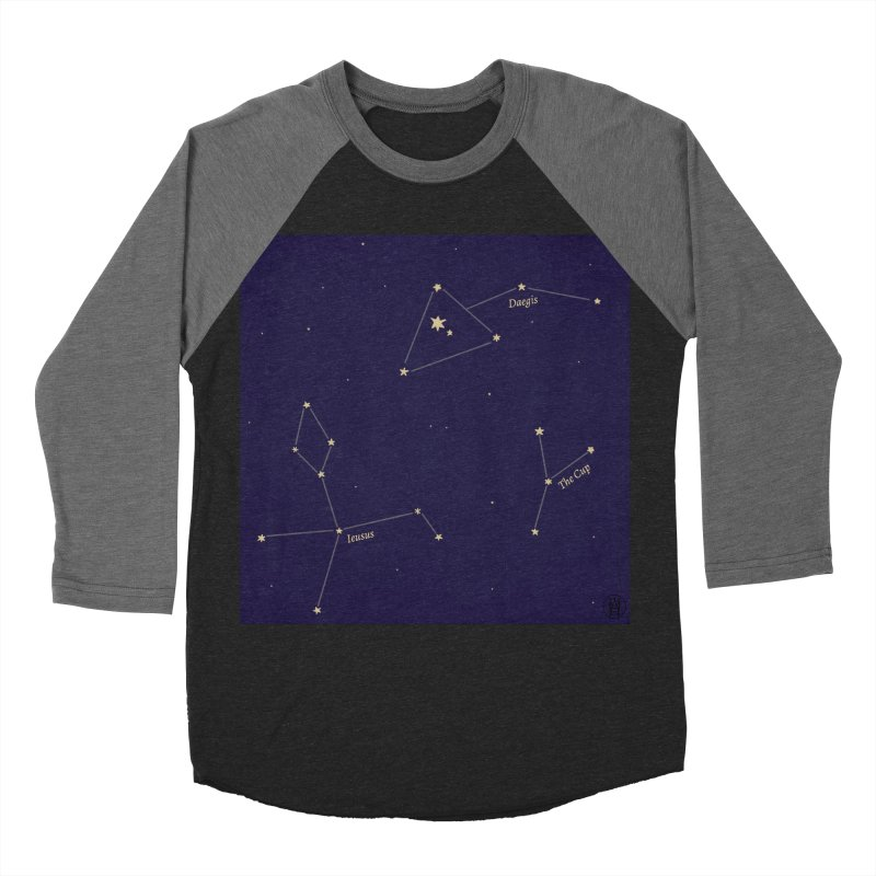 Constellations Women's Baseball Triblend Longsleeve T-Shirt by wchwriter's Artist Shop
