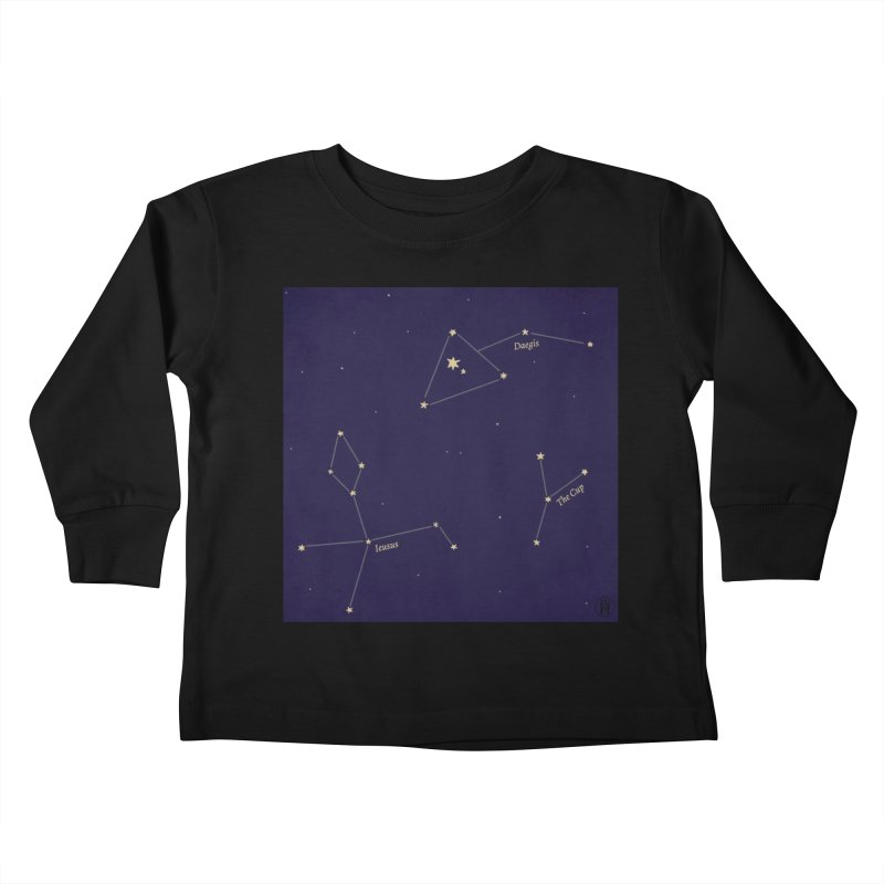 Constellations Kids Toddler Longsleeve T-Shirt by wchwriter's Artist Shop