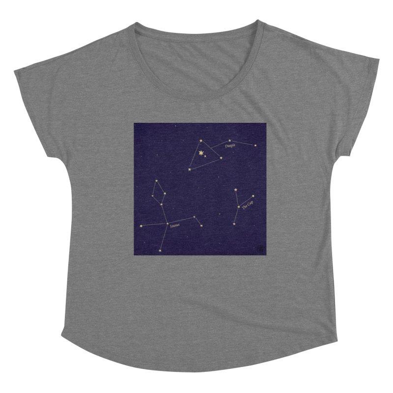 Constellations Women's Scoop Neck by wchwriter's Artist Shop