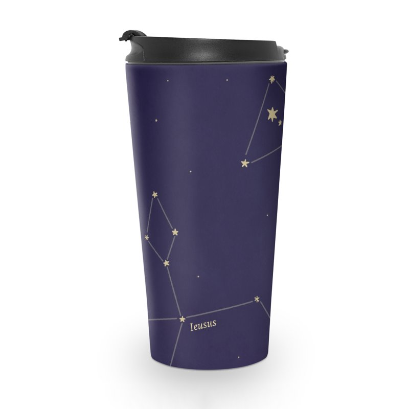 Constellations Accessories Travel Mug by wchwriter's Artist Shop