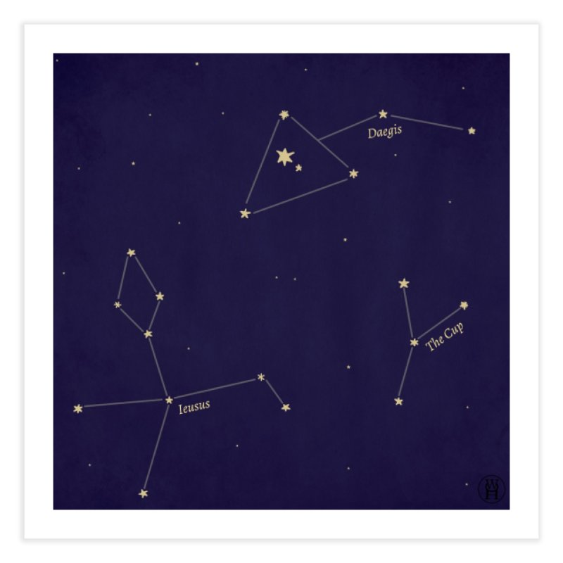 Constellations Home Fine Art Print by wchwriter's Artist Shop