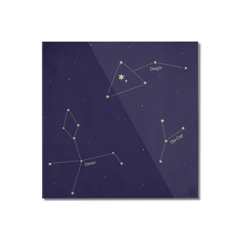 Constellations Home Mounted Acrylic Print by wchwriter's Artist Shop