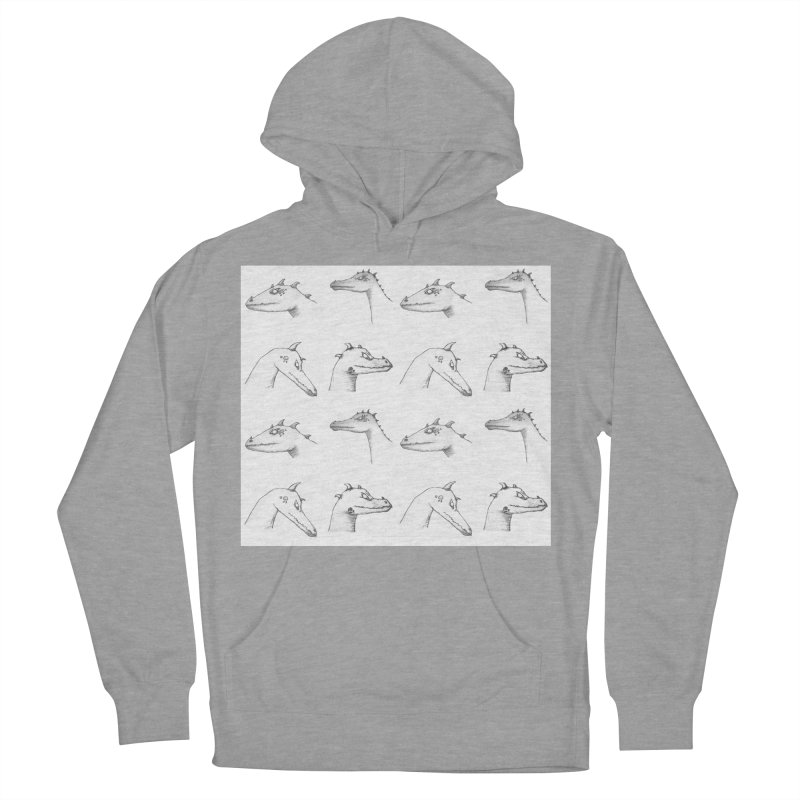 Repeating Dragons Men's French Terry Pullover Hoody by wchwriter's Artist Shop
