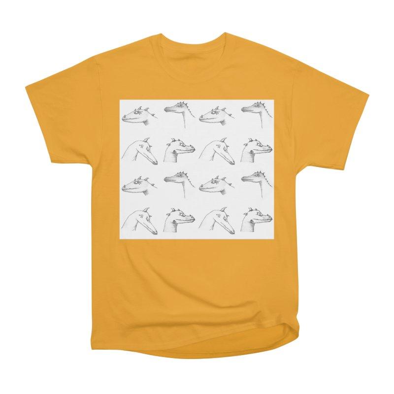 Repeating Dragons Men's Heavyweight T-Shirt by wchwriter's Artist Shop