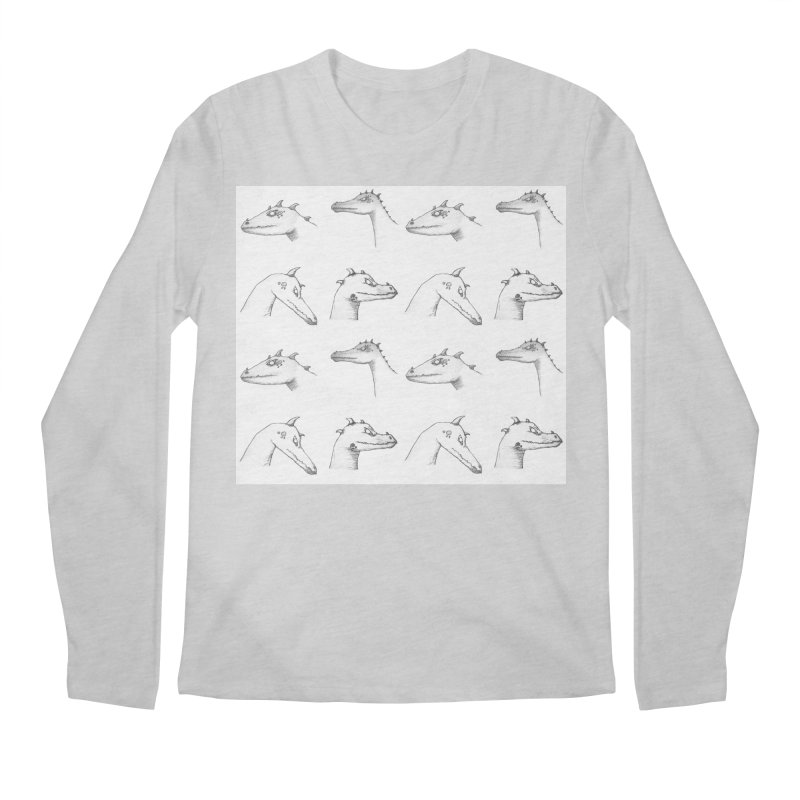 Repeating Dragons Men's Regular Longsleeve T-Shirt by wchwriter's Artist Shop