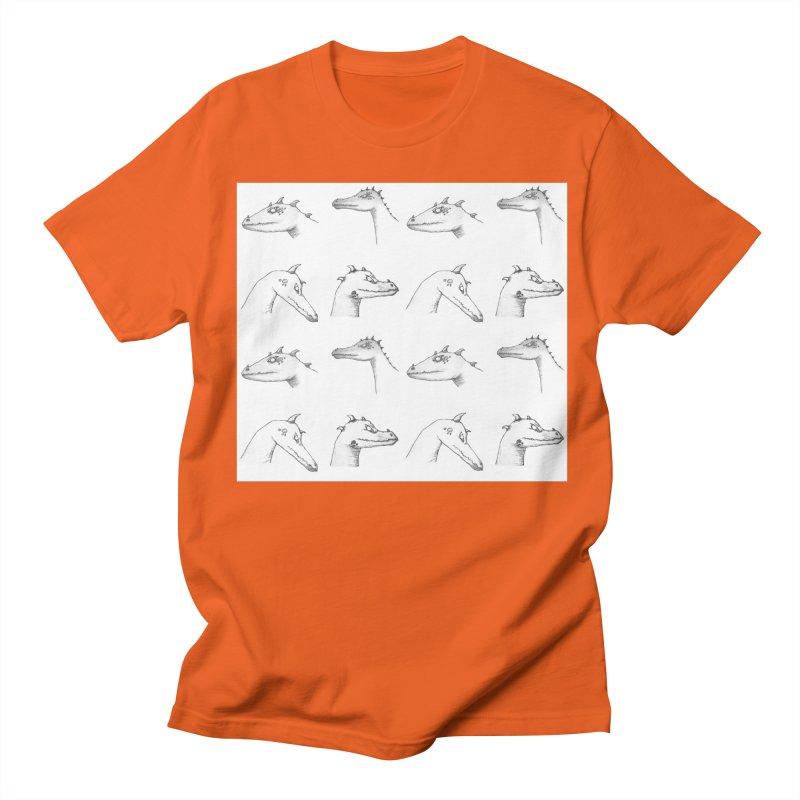 Repeating Dragons Men's Regular T-Shirt by wchwriter's Artist Shop