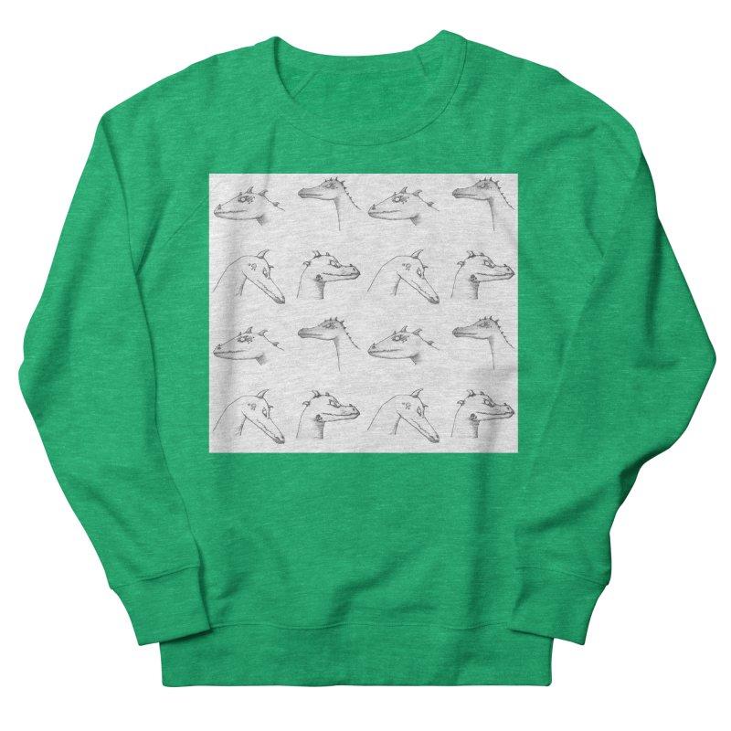 Repeating Dragons Women's Sweatshirt by wchwriter's Artist Shop