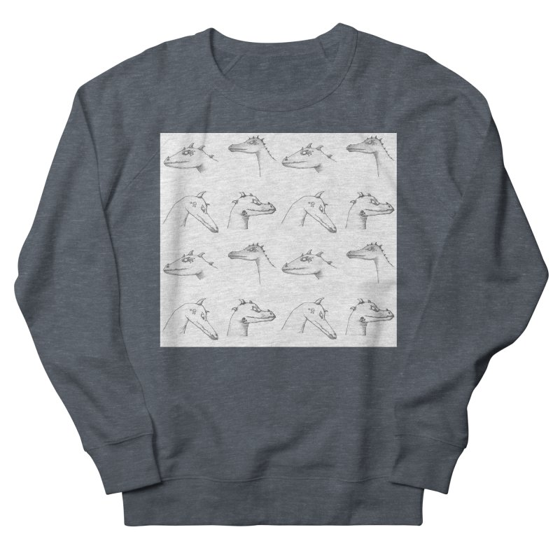 Repeating Dragons Women's French Terry Sweatshirt by wchwriter's Artist Shop