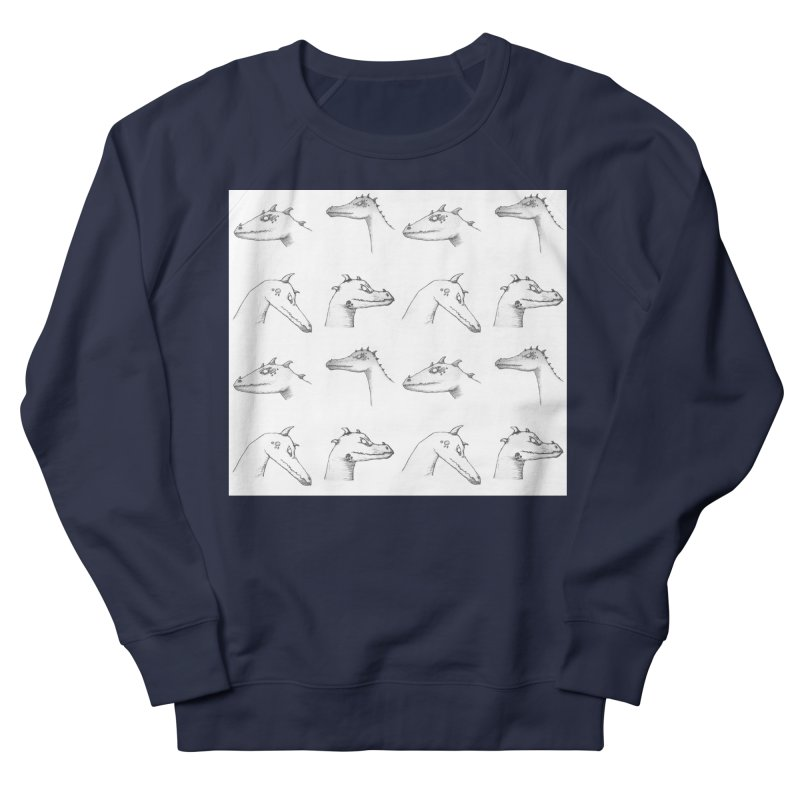 Repeating Dragons Men's French Terry Sweatshirt by wchwriter's Artist Shop