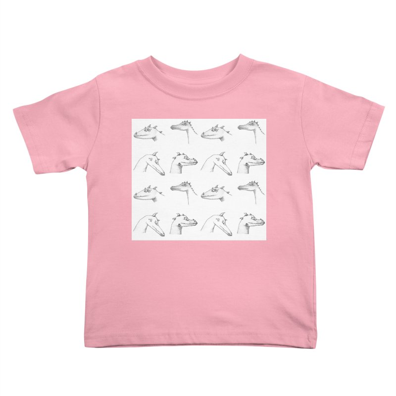 Repeating Dragons Kids Toddler T-Shirt by wchwriter's Artist Shop