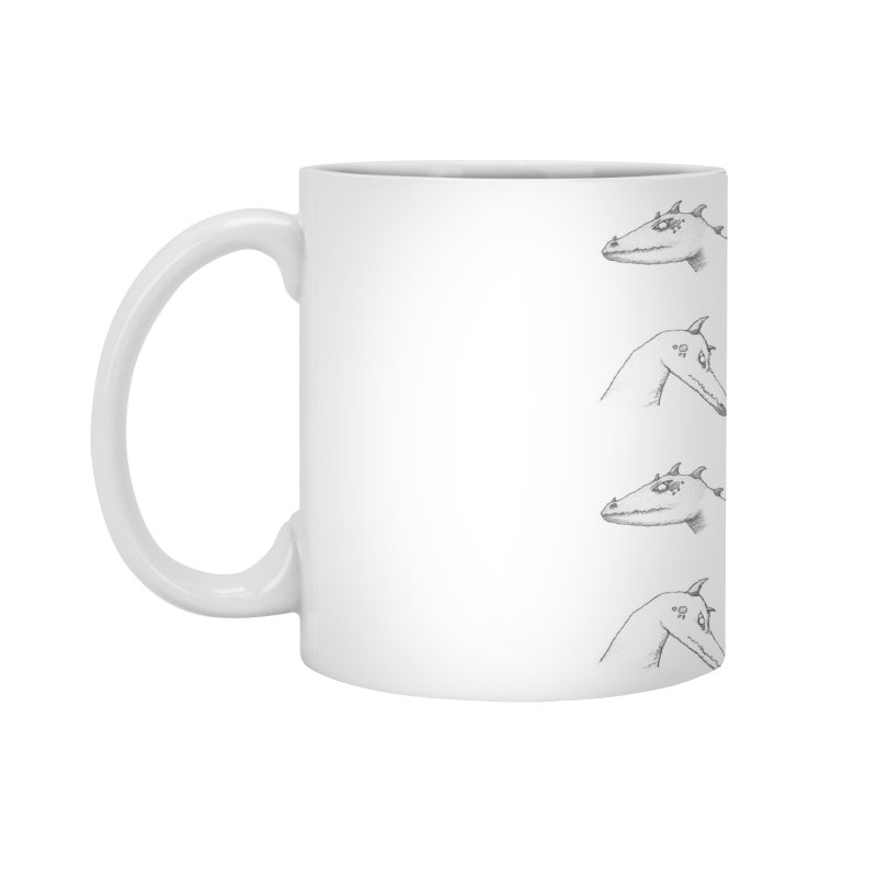 Repeating Dragons Accessories Mug by wchwriter's Artist Shop