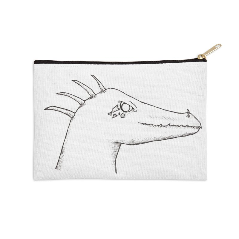 Derek Accessories Zip Pouch by wchwriter's Artist Shop