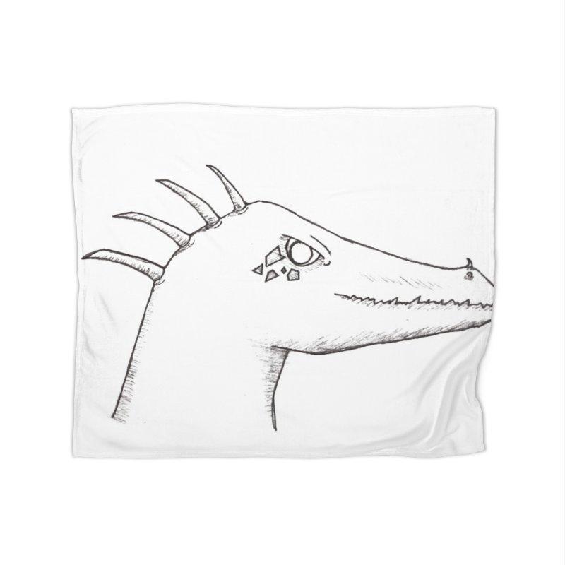 Derek Home Fleece Blanket Blanket by wchwriter's Artist Shop