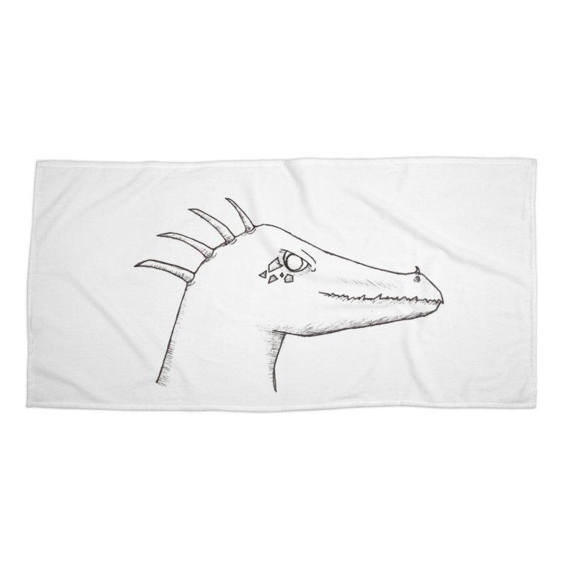 Derek Accessories Beach Towel by wchwriter's Artist Shop
