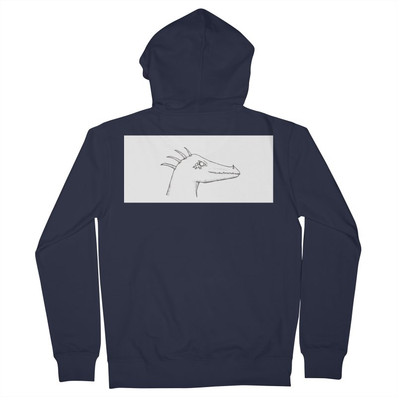 Derek Women's French Terry Zip-Up Hoody by wchwriter's Artist Shop