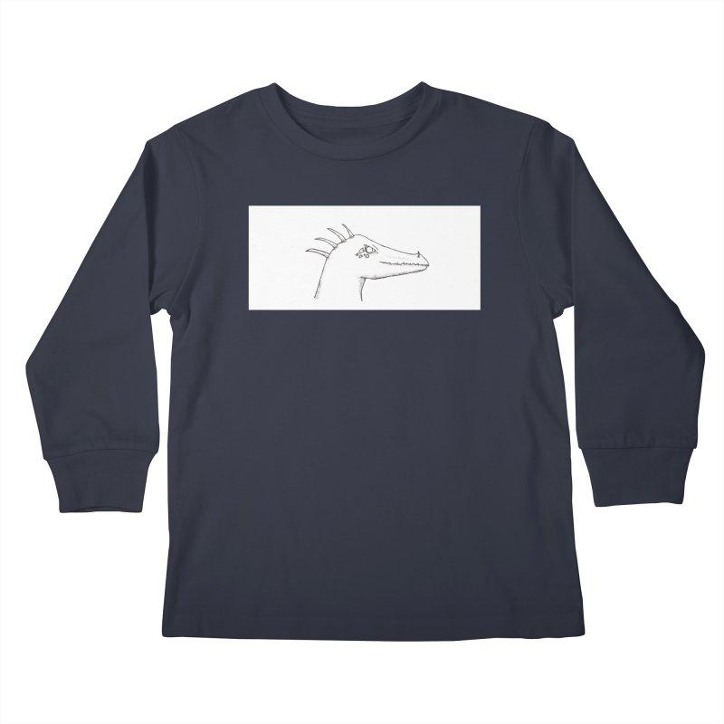 Derek Kids Longsleeve T-Shirt by wchwriter's Artist Shop