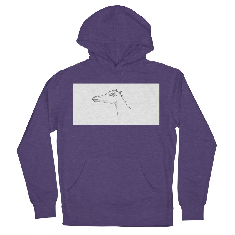 Frank Men's French Terry Pullover Hoody by wchwriter's Artist Shop