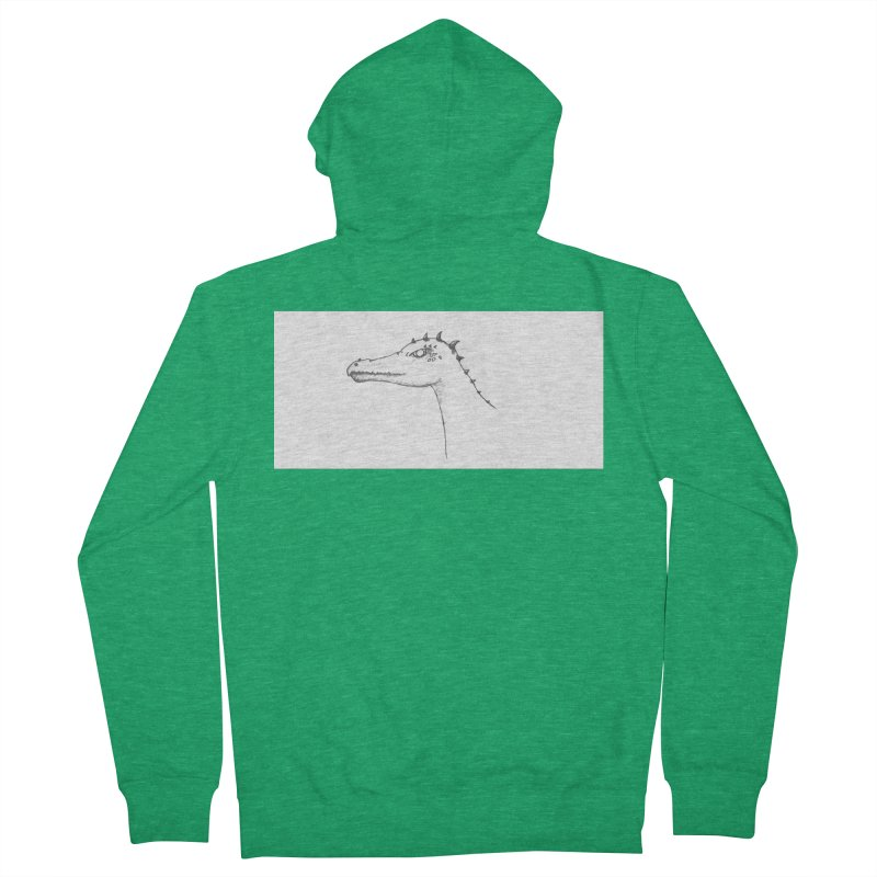 Frank Women's French Terry Zip-Up Hoody by wchwriter's Artist Shop