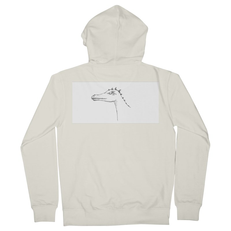 Frank Men's French Terry Zip-Up Hoody by wchwriter's Artist Shop