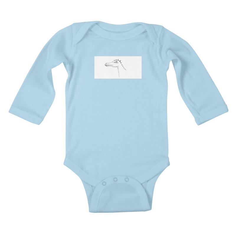 Frank Kids Baby Longsleeve Bodysuit by wchwriter's Artist Shop