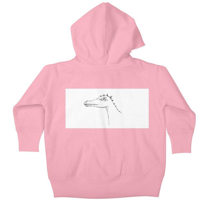 Frank Kids Baby Zip-Up Hoody by wchwriter's Artist Shop