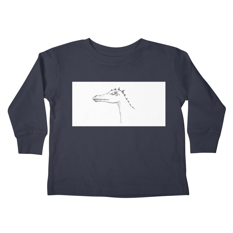 Frank Kids Toddler Longsleeve T-Shirt by wchwriter's Artist Shop