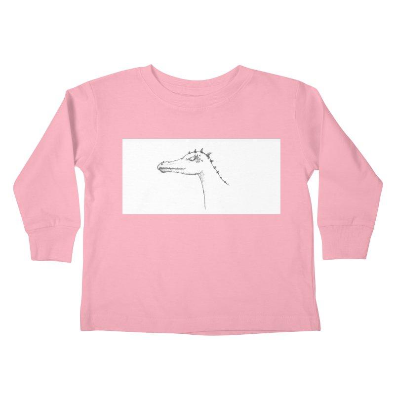 Frank Kids Toddler Longsleeve T-Shirt by wchwriter's Artist Shop