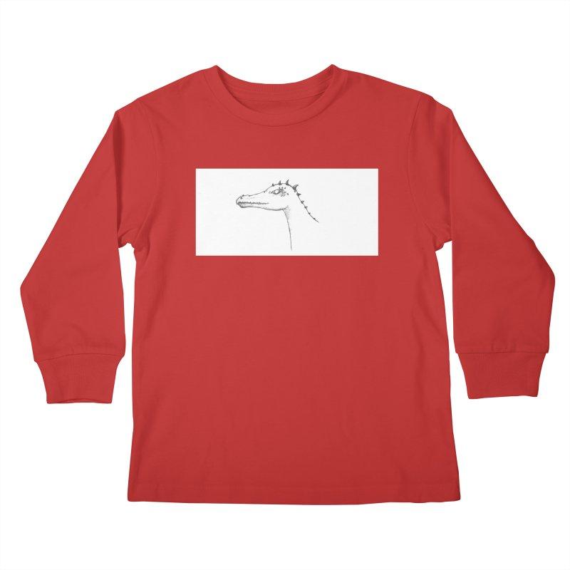 Frank Kids Longsleeve T-Shirt by wchwriter's Artist Shop