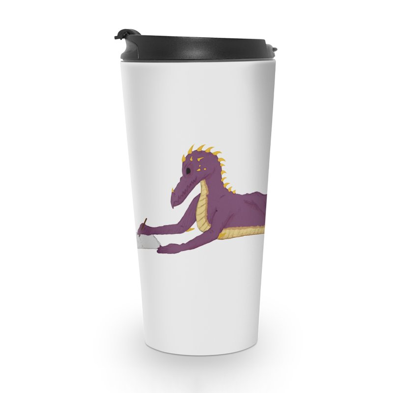 Dragon Writer Accessories Travel Mug by wchwriter's Artist Shop