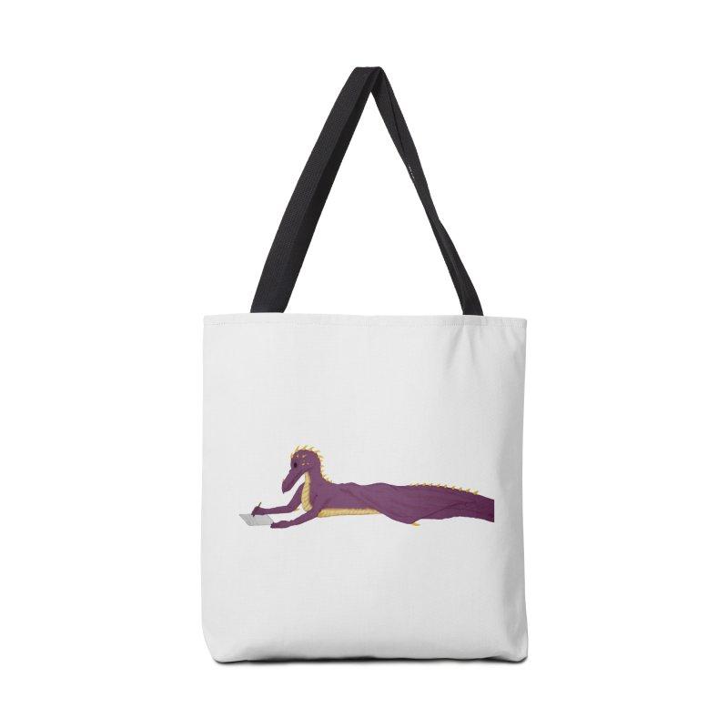 Dragon Writer Accessories Bag by wchwriter's Artist Shop