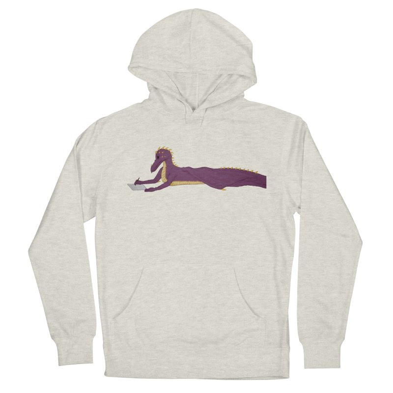 Dragon Writer Women's French Terry Pullover Hoody by wchwriter's Artist Shop