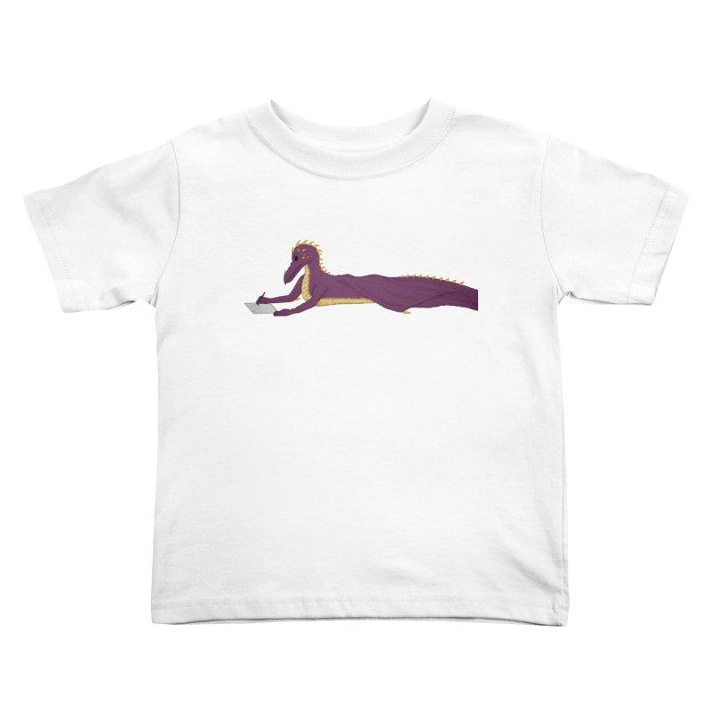 Dragon Writer Kids Toddler T-Shirt by wchwriter's Artist Shop
