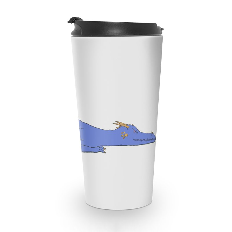 Dragon Resting Accessories Travel Mug by wchwriter's Artist Shop