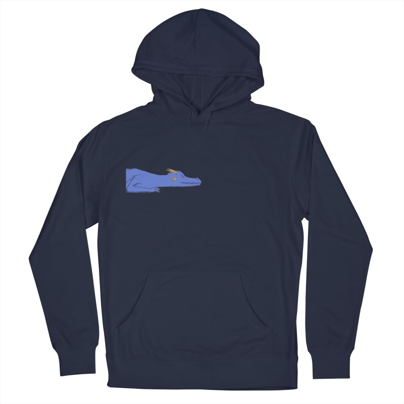 Dragon Resting Men's French Terry Pullover Hoody by wchwriter's Artist Shop