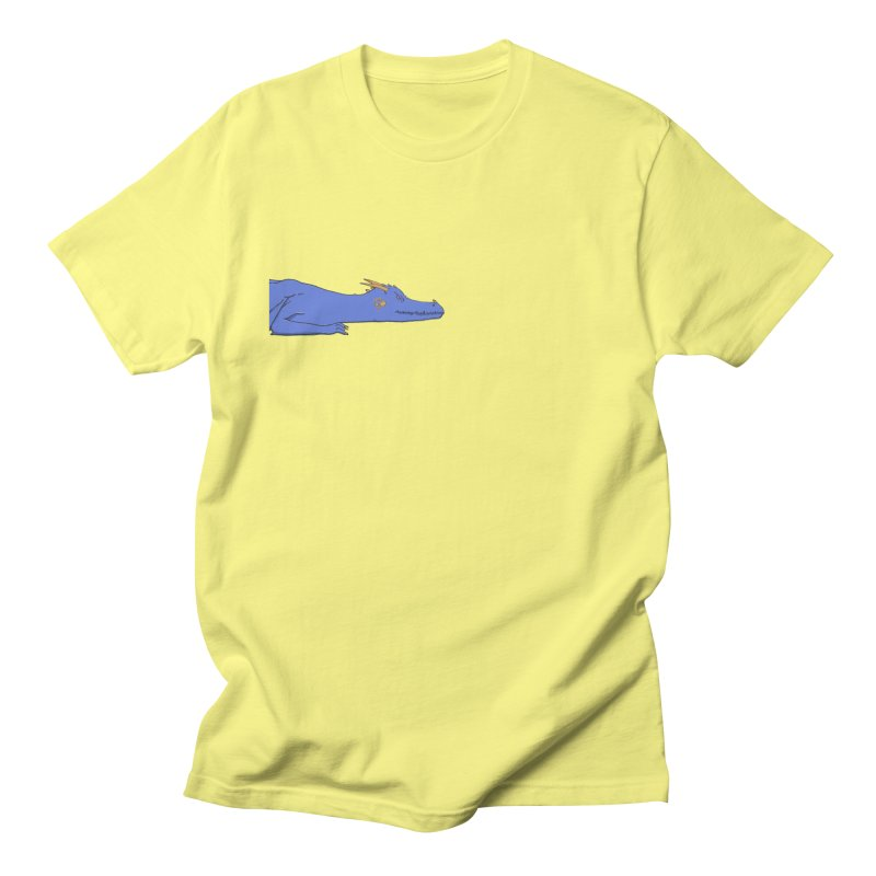 Dragon Resting Men's Regular T-Shirt by wchwriter's Artist Shop