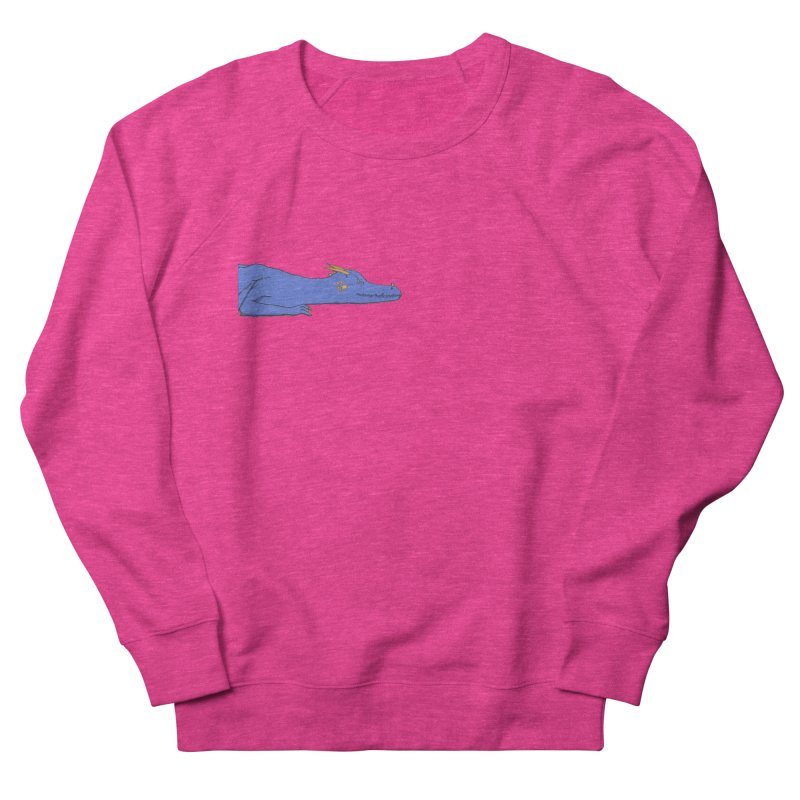Dragon Resting Men's French Terry Sweatshirt by wchwriter's Artist Shop