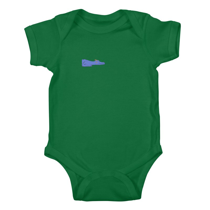 Dragon Resting Kids Baby Bodysuit by wchwriter's Artist Shop