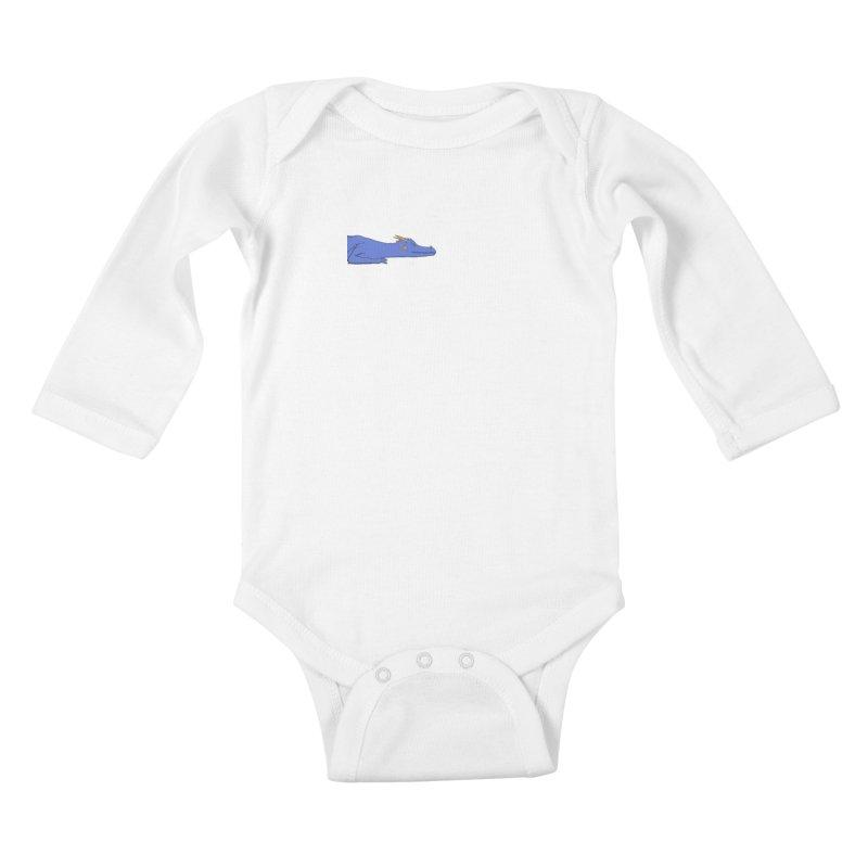 Dragon Resting Kids Baby Longsleeve Bodysuit by wchwriter's Artist Shop