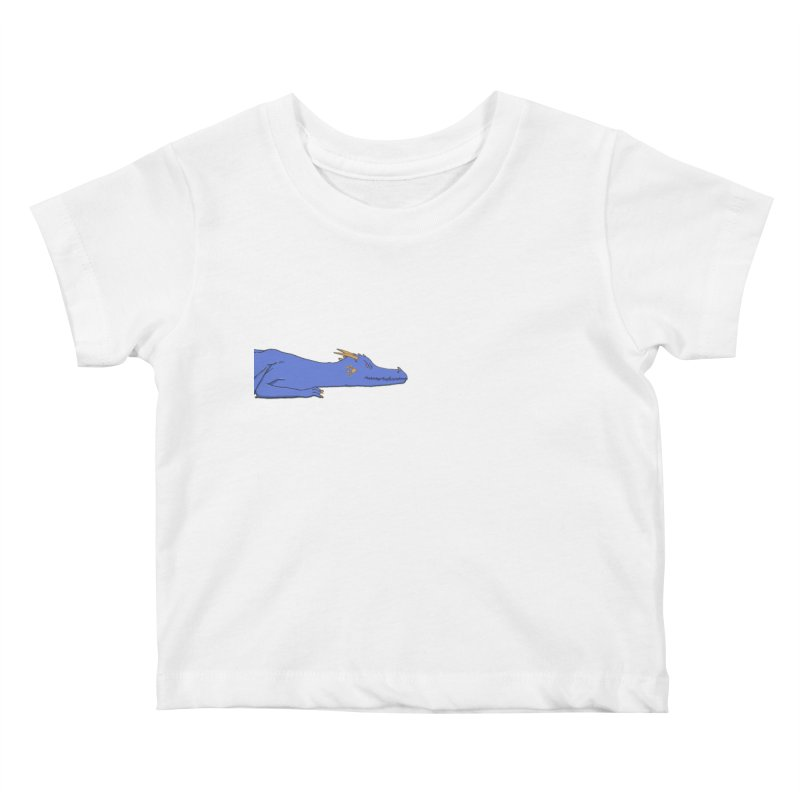 Dragon Resting Kids Baby T-Shirt by wchwriter's Artist Shop